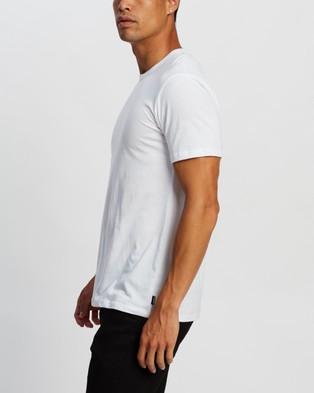 Bonds Standard Crew Tee - Short Sleeve T-Shirts (White)