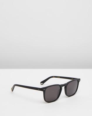 Pacifico Optical Blair - Square (Matte Black with Polarised Grey lens)