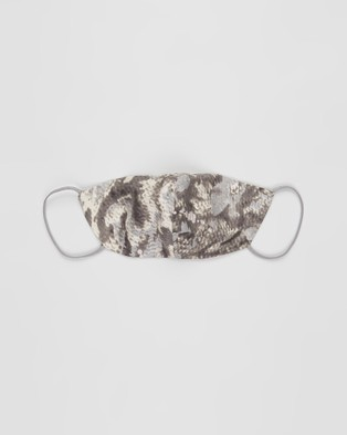 Grace Willow 3 Pack Non Medical Silk Face Masks - Face Masks (Animal Print)
