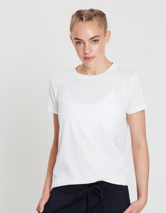 Under Armour - Graphic Watermark Classic Crew Tee - Women's