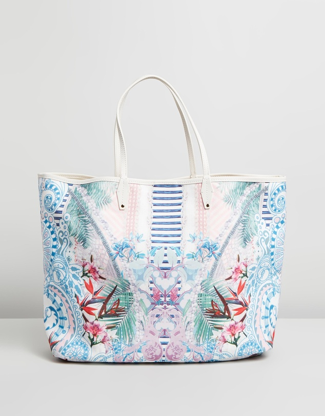 Camilla - Coated Canvas Tote