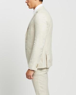 Calvin Klein - Extreme Slim Fit Suit Jacket Suits & Blazers (Ecru )