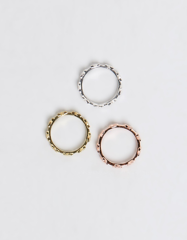 Luv Aj - The Pave Star Ring Set