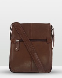 Cobb & Co - Alex Leather Satchel