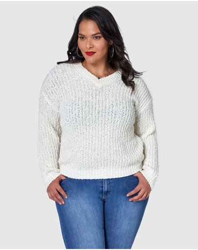 Sunday In The City Perfect Illusion Knit Whisper White