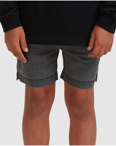 Quiksilver - Boys 8-16 Taxer Elasticated Short
