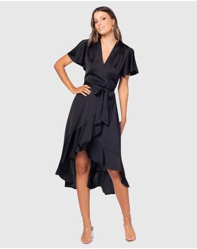 Pilgrim Elisia Maxi Dress Black
