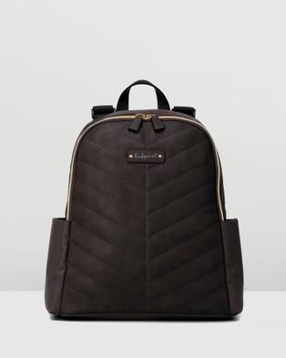 Babymel Gabby Vegan Leather Backpack - Bags (Black)
