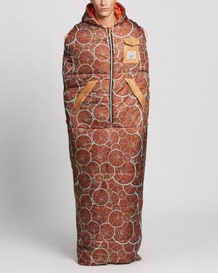 Poler Reversible Napsack - Sleeping Bags & Napsacks (Golden Circle Brick)
