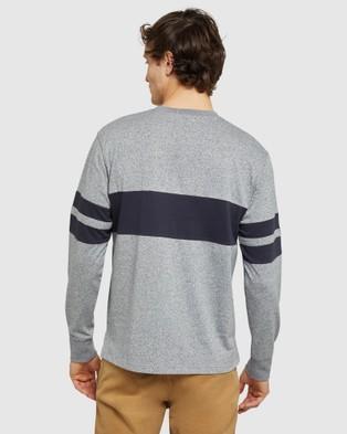 Oxford - Noah Sweatshirt - Long Sleeve T-Shirts (Blue) Noah Sweatshirt