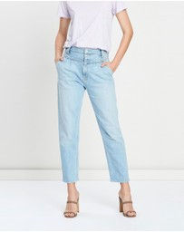 Mother Denim - The Pleated Popular Peg Jeans