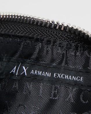 Armani Exchange - Credit Card Holder Wallets (Black)