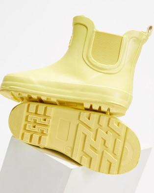 Cotton On Kids Gusset Gumboots   Kids - Boots (Lemon Drop)