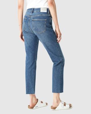 Mavi Viola Jeans - High-Waisted (Dark Vintage Blue Denim)