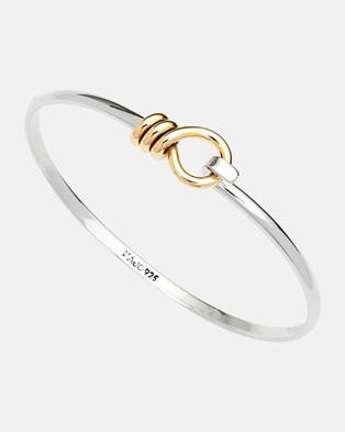 Najo Highfield Cuff Jewellery Yellow Gold and Silver