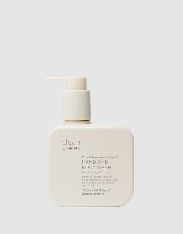 Life CLEAN by endota - �Â� Rose & Tasmanian Lavender Hand & Body Wash