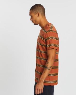 Lee Sunburn Stripe Tee - T-Shirts & Singlets (Multi)