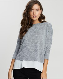 DP Petite - 2-in-1 Wrap Top