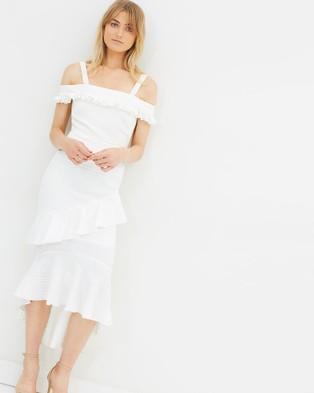 Nicola Finetti – Lillian Dress White