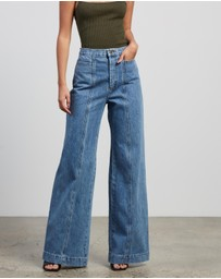 Bec + Bridge - Cleo Wide Leg Jeans