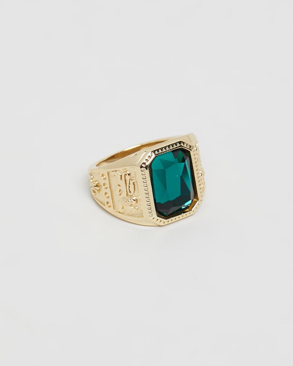 Serge DeNimes Emperor Ring Jewellery Gold