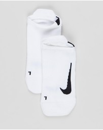 Nike - Multiplier No Show Socks - 2 Pack