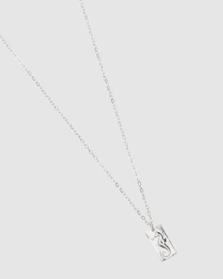 Pastiche Seahorse Necklace - Jewellery (Silver)