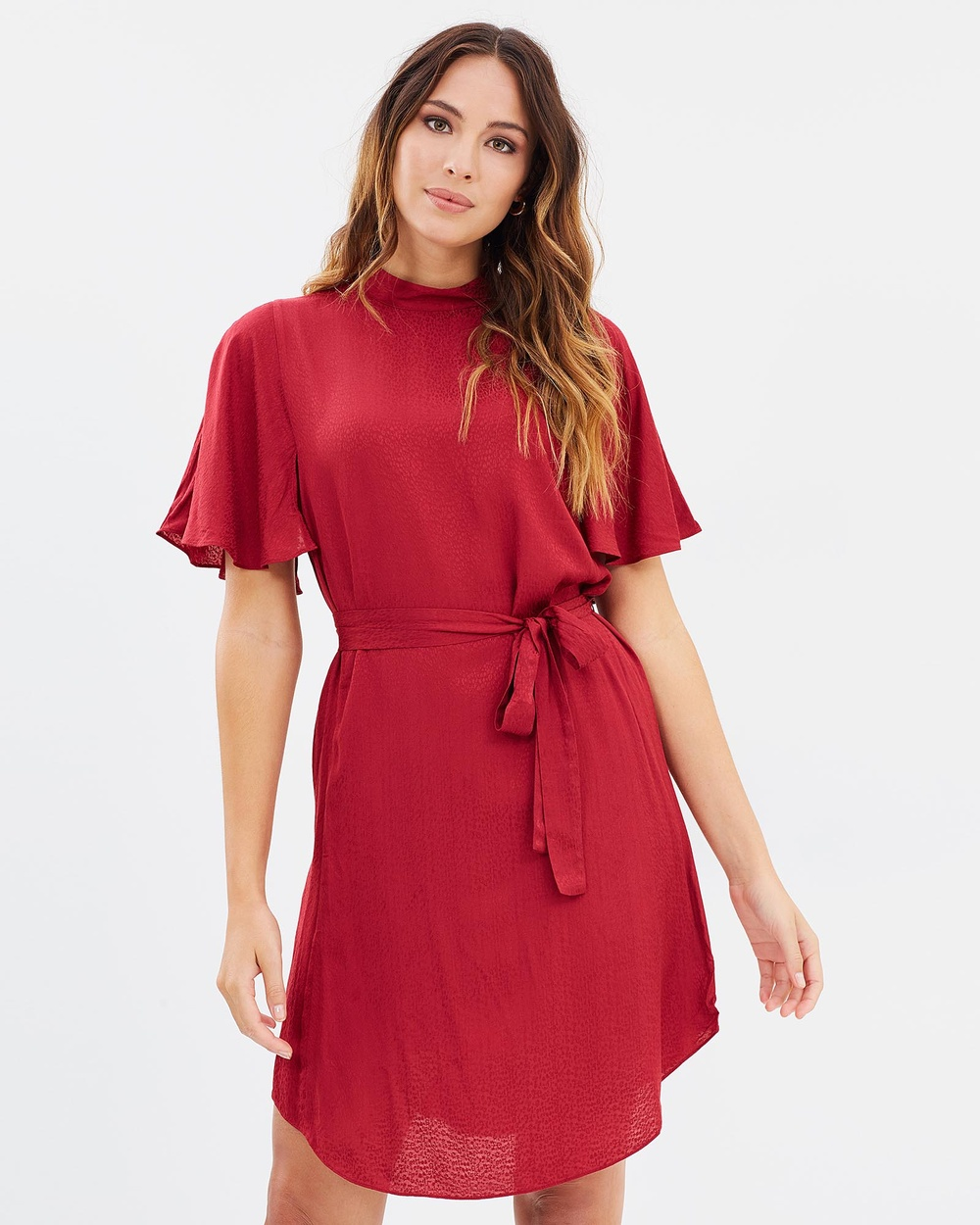 SABA Meadow Dress Dresses Garnet Meadow Dress