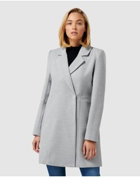 Forever New - Dylain Crombie Coat