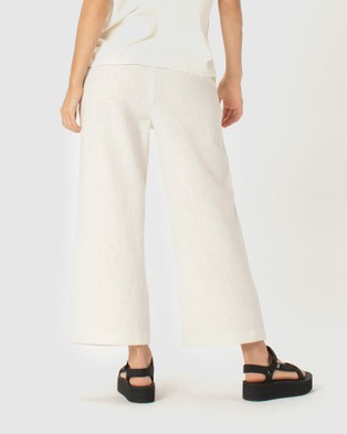 Cools Club Easy Pants - Pants (White)