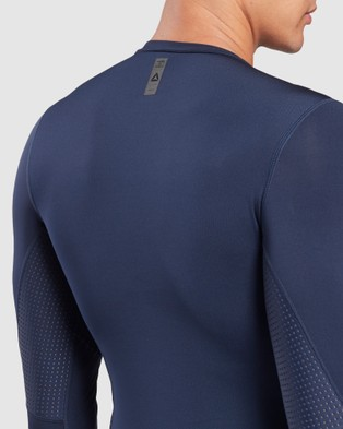 Reebok Performance United by Fitness Compression Tee Underwear & Socks Blue
