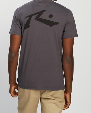 Rusty Competition Short Sleeve Tee - T-Shirts & Singlets (Coal)