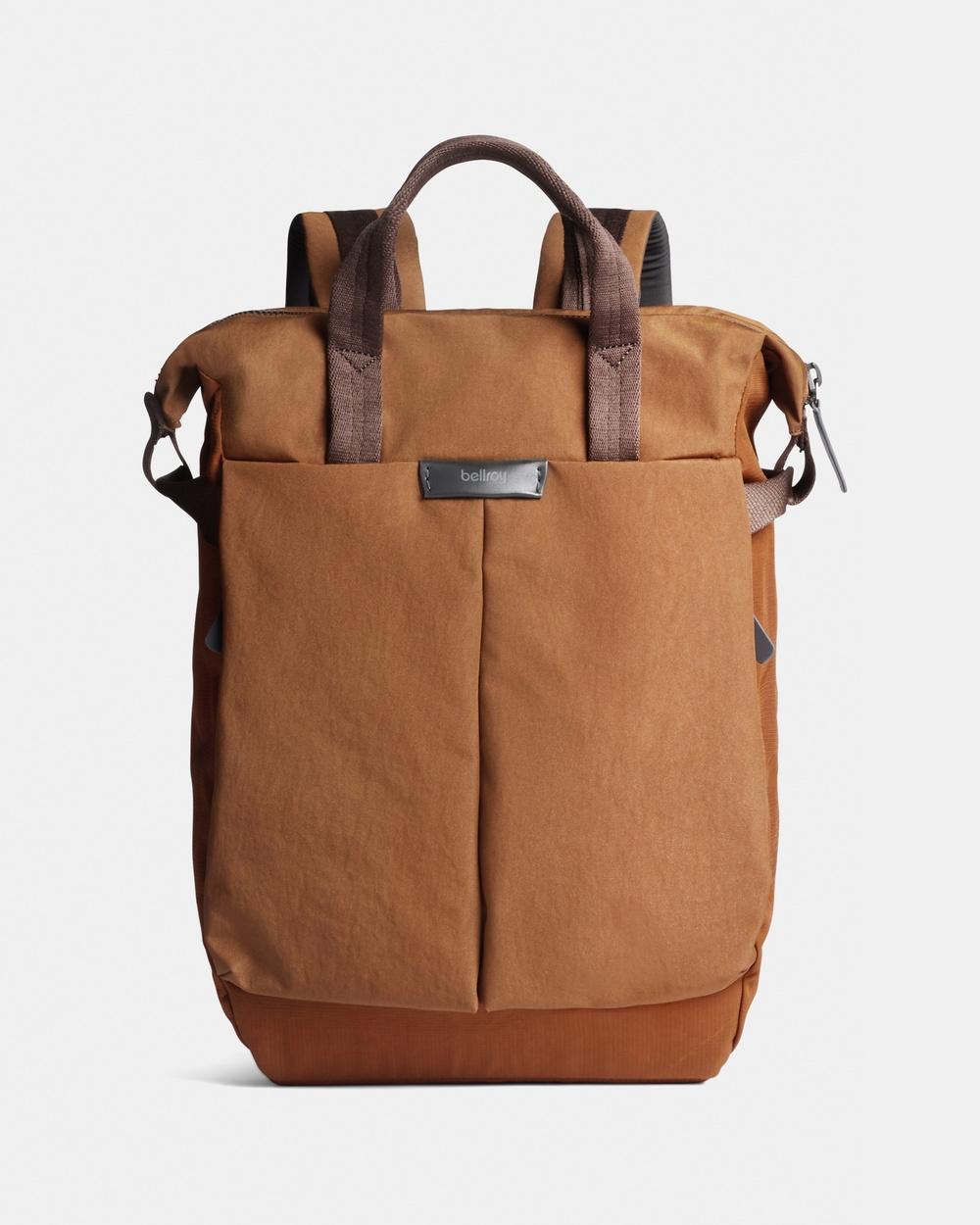 Bellroy Tokyo Totepack Compact Backpacks Orange