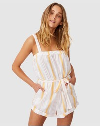 Cotton On - Woven Audrey Strappy Playsuit
