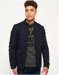 Superdry - City Microfibre Quilted Jacket