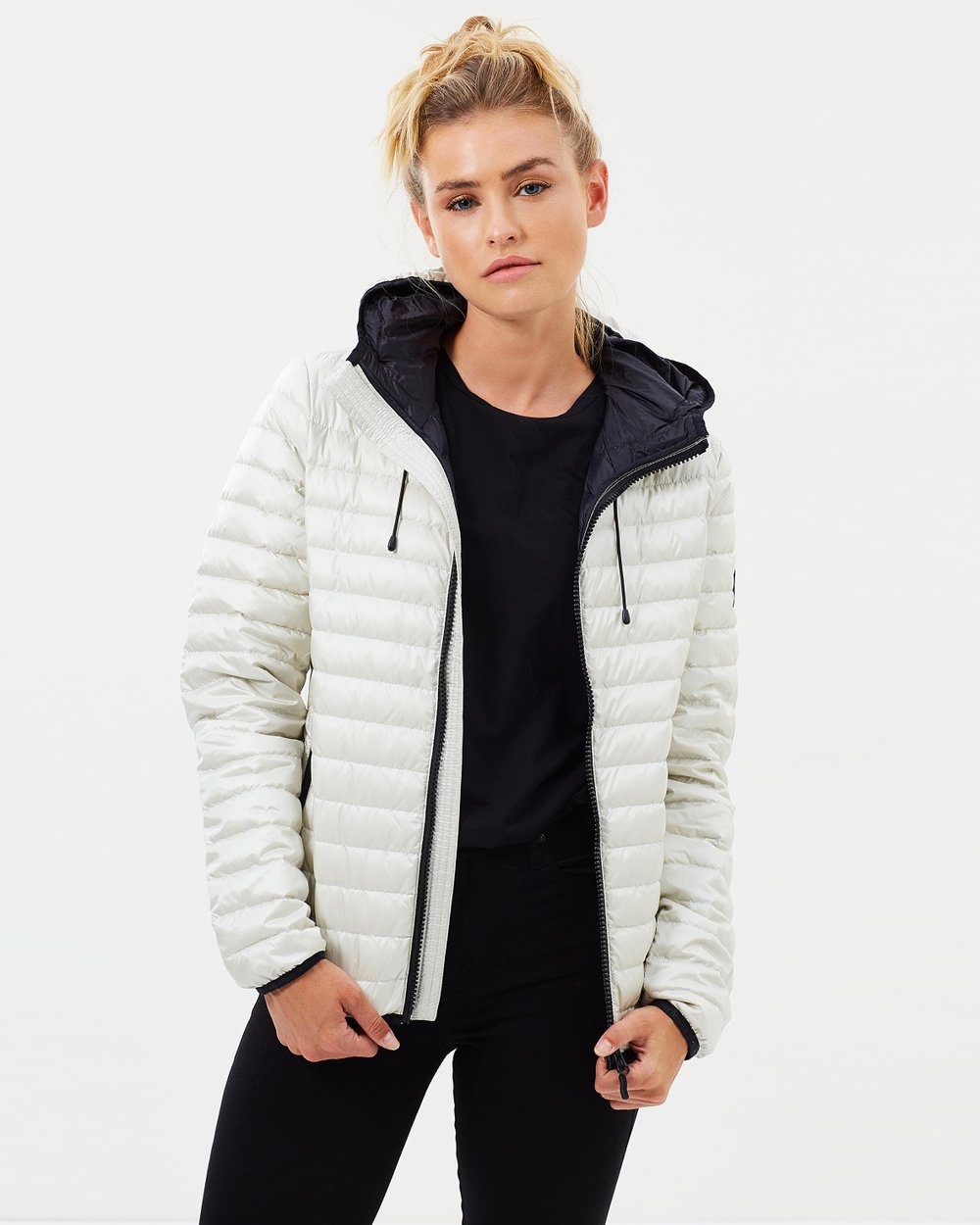 5dcf233d7f33 Core Down Hooded Jacket by Superdry Online