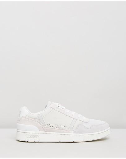 Lacoste T-clip 120 2 Us Sneakers - Women's White & Light Grey