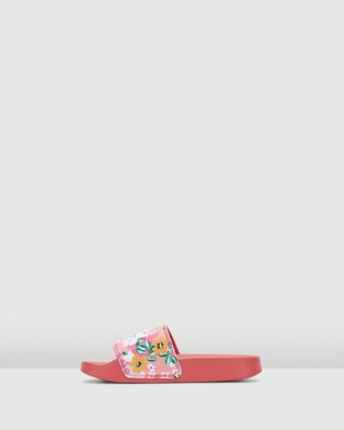 adidas Originals - Adilette Lite Sandals (Rose Floral)
