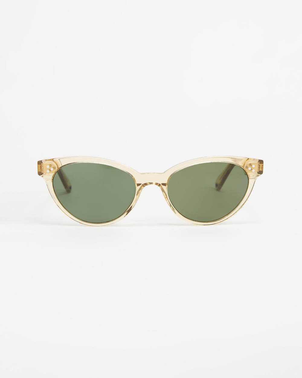 Pacifico Optical Francis Sunglasses Champagne & Green