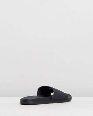 adidas Performance Adilette Comfort Slides   Unisex - Slides (Core Black & Footwear White)