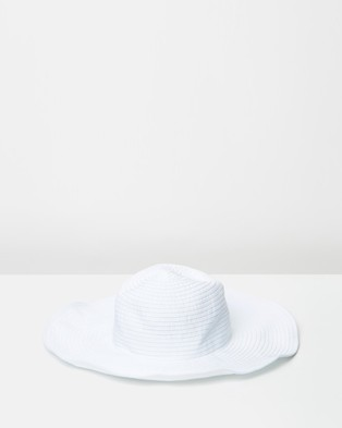 Seafolly Lizzy Hat - Hats (White)