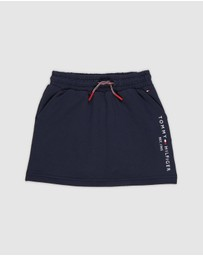 Tommy Hilfiger - Essential Logo Drawstring Skirt - Kids