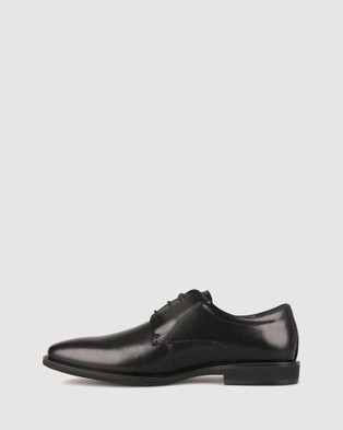 Airflex Duke Leather Derby Dress Shoes - Dress Shoes (Black)