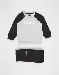 adidas Performance - Linear Fleece Jogger Set - Babies