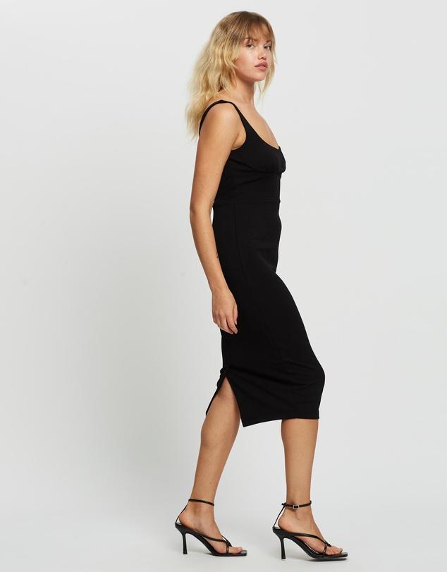 Women Hustle Midi Dress