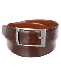 Connary Reversible Leather Belt