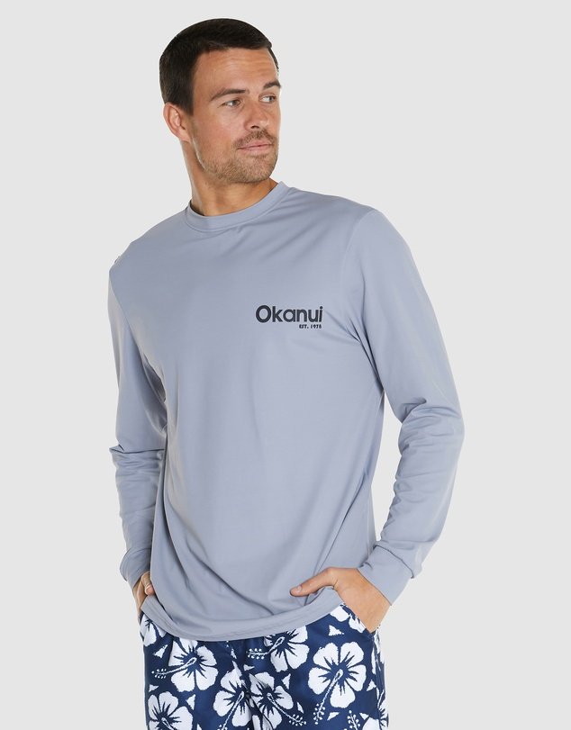 Okanui - Logo Long Sleeve Rash Shirt