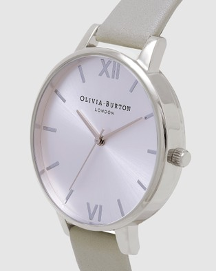 Olivia Burton Big Dial - Watches (Silver)