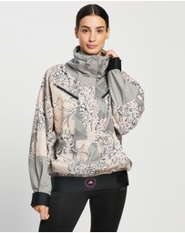 adidas by Stella McCartney - Future Playground Half-Zip Printed Jacket