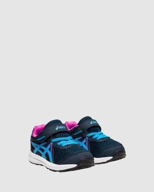 ASICS Contend 7 Infant - Lifestyle Shoes (French Blue/Digital Aqua)